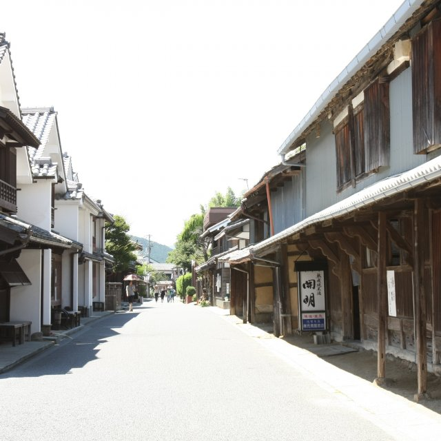 Townscape of Unomachi in Uwacho