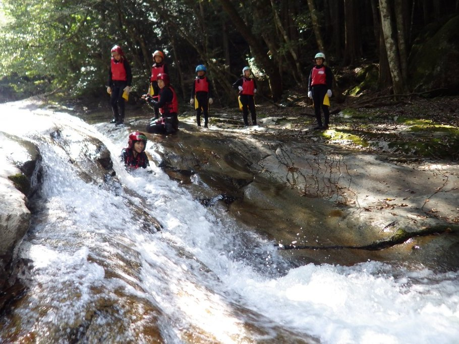Canyoning (Nametoko Gorge)
